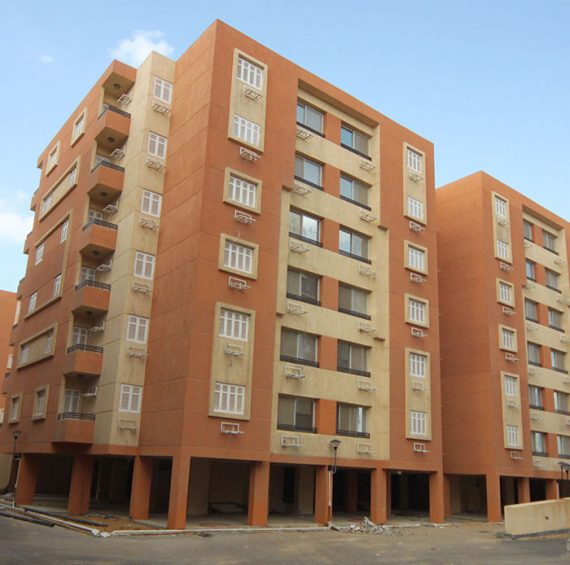 housing projects in 6 of October city